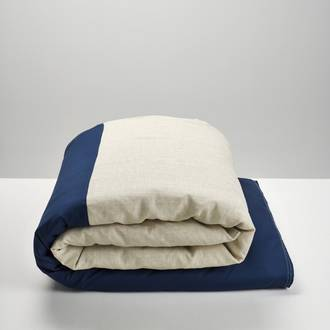 Navy & Natural Duvet