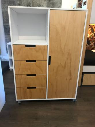 Urban Compact Drawer Wardrobe