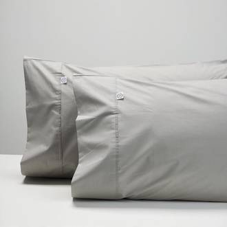 Smoke Cotton Pillowcases