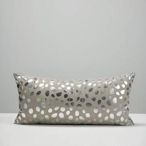 Silver Pebble Cushion