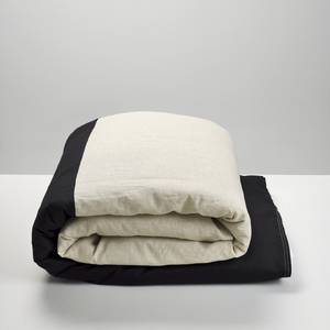 Black & Natural Duvet