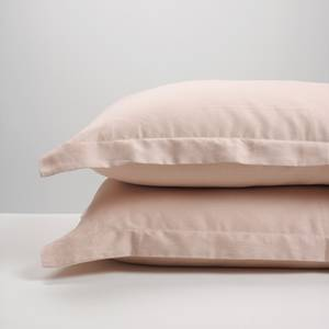 Blush Linen Pillowcases