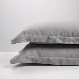 Smoke Linen Pillowcases