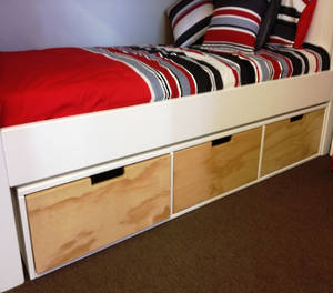 Trendy Under Bunk & Bed Drawers