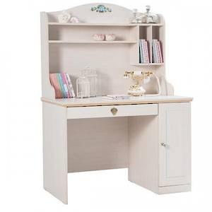Flora Study Desk + Top Unit