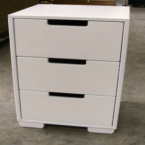Trendy 3 Drawers  Bedside Table