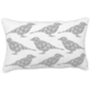 Printed Bird | Pewter Bird