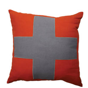 Urban Cross Cushion Tangerine