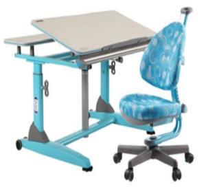 Height- Adjustable Ergonomic Kids & Youth  Desk & Chair